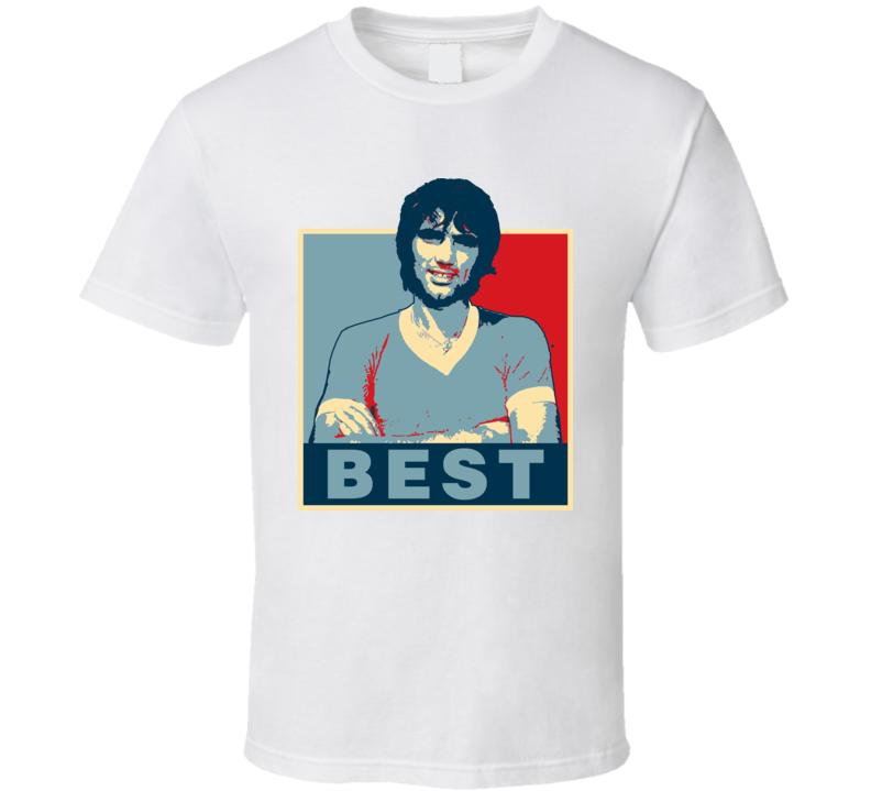 George Best Hope Manchester Soccer T Shirt
