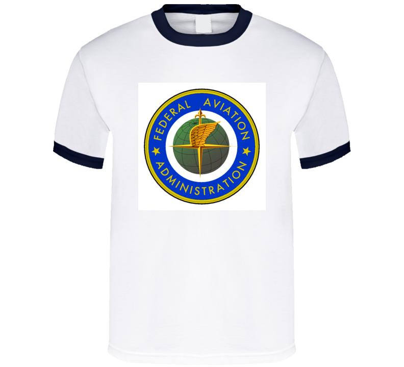 Federal Aviation Administration Faa Airplane Tshirt T Shirt