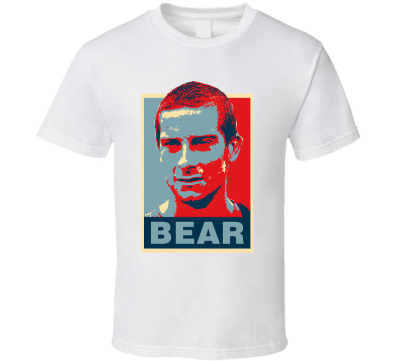 Bear Grylls Man Vs Wild Hope T Shirt White