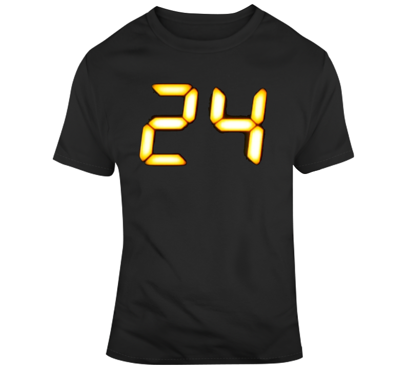 24 Jack Bauer Television Show T Shirt