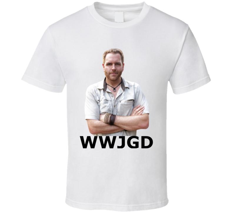 Josh Gates Ghost Hunters Wwjgd What Would Josh Gates Do? T Shirt