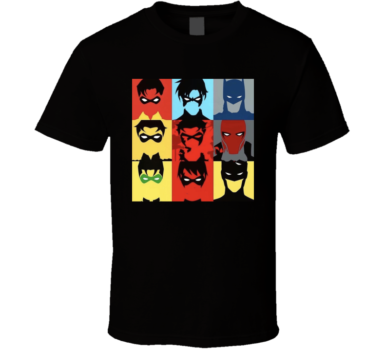 Superhero Silhouette Cool T Shirt