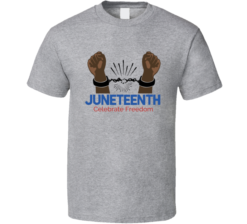 Celebrate Freedom Juneteenth Blm T Shirt