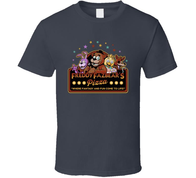 Freddy Fazbear's Pizza Five Nights At Freddy's Video Game Fan T Shirt