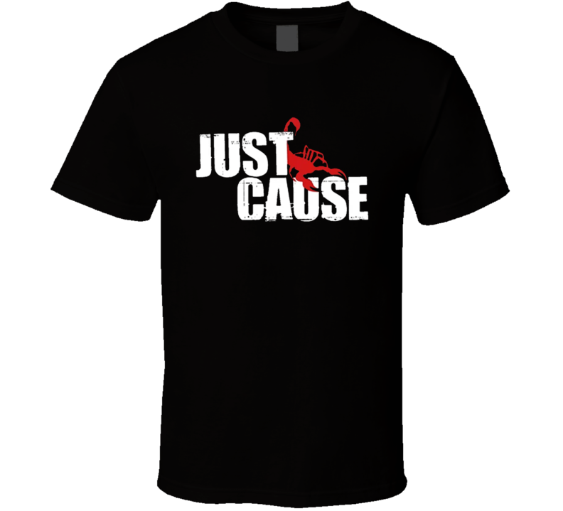 Just Cause Popular Video Game Player T Shirt