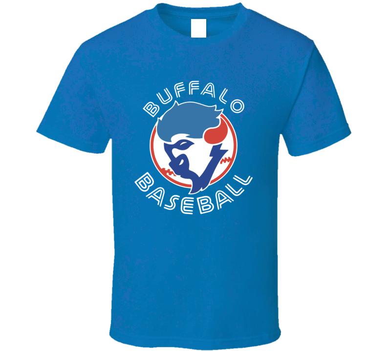 Toronto Buffalo Baseball Bison Mashup Baseball Sports Fan T Shirt