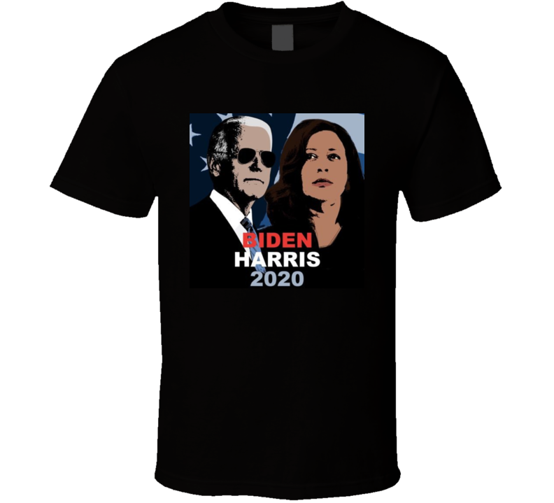 Biden Harris 2020 Cartoonized T Shirt