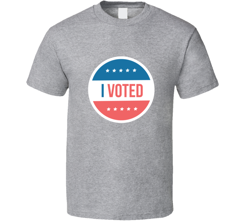 I Voted Retro American Election Political T Shirt