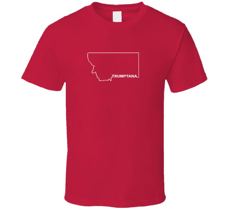 Trumptana Republican Trump Montana T Shirt