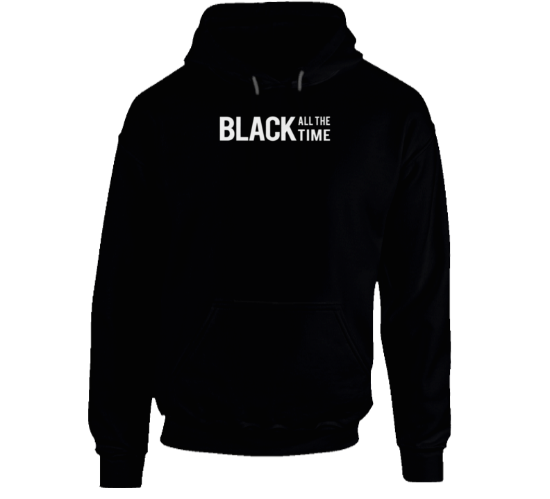 Black All The Time Blm Milwaukee Hoodie