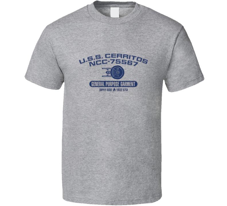 Uss Cerritos Ncc Star Trek Lower Decks T Shirt