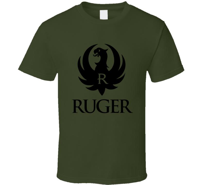 Ruger Logo Guns Pistol T Shirt