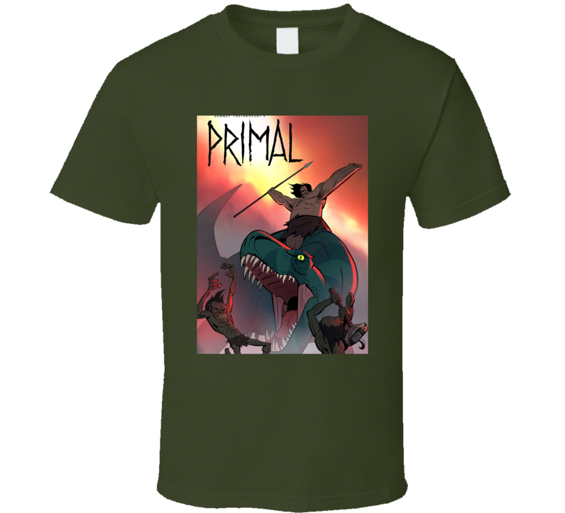 Cartoon Genndy Tartakovskys Primal T Shirt