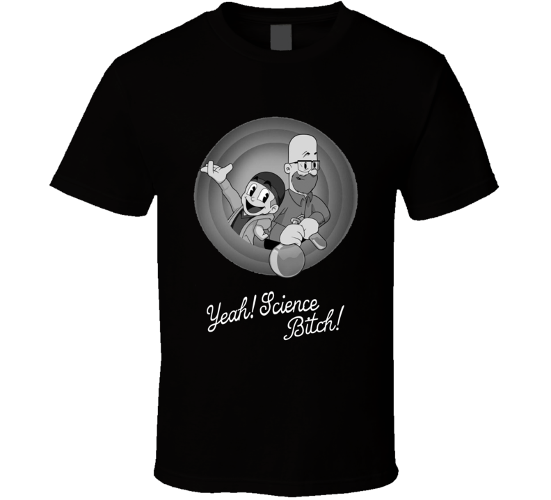 Breaking Bad Looney Toons Yeah Science Bitch T Shirt
