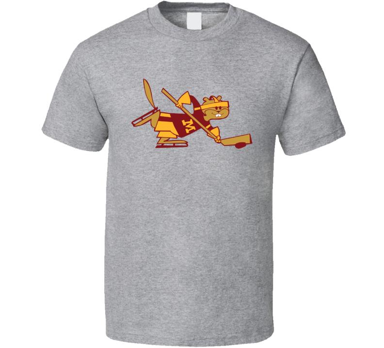 Minnesota Golden Gopher Hockey Logo T Shirt