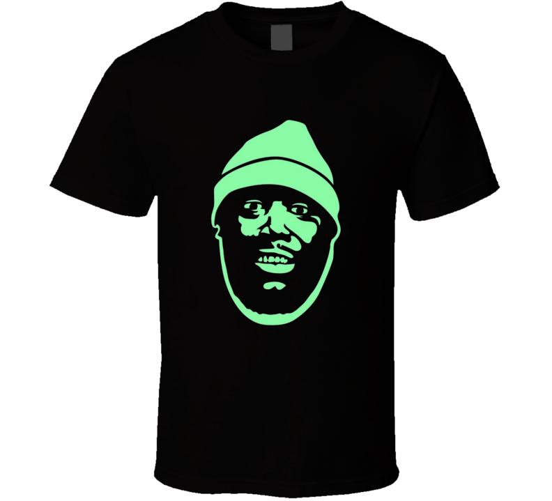 Killer Mike Stencil Shilouette Big Face T Shirt