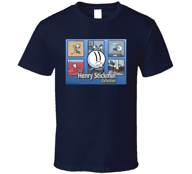 The Henry Stickmin Collection Video Game T Shirt