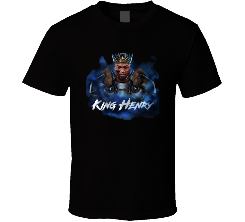 King Henry Derrick Tennessee Football The Finisher T Shirt