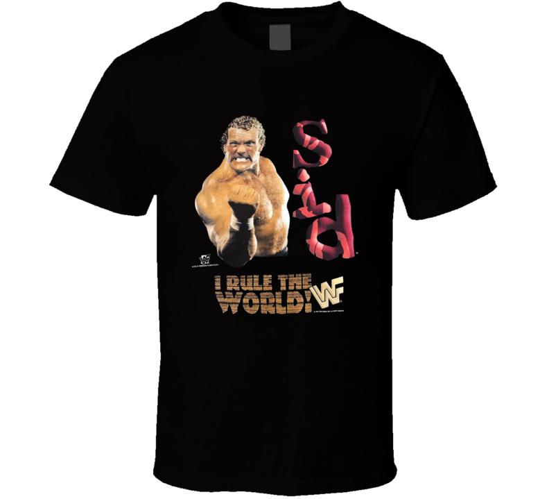 Sid Eudy I Rule The World Popular Wrestling Sports Fan T Shirt