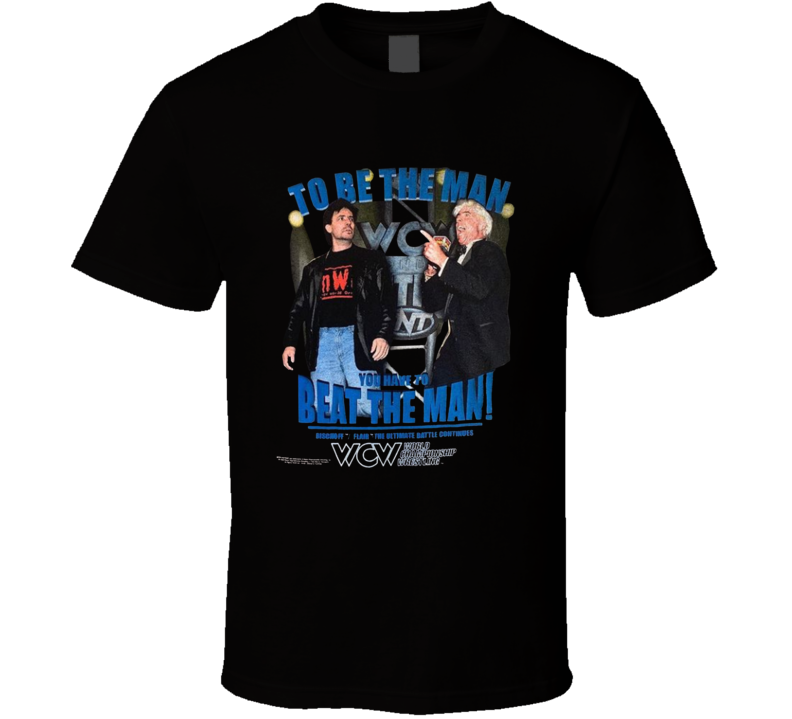Eric Bischoff Ric Flair The Ultimate Battle Continues Popular Wrestlers Sports Fan T Shirt