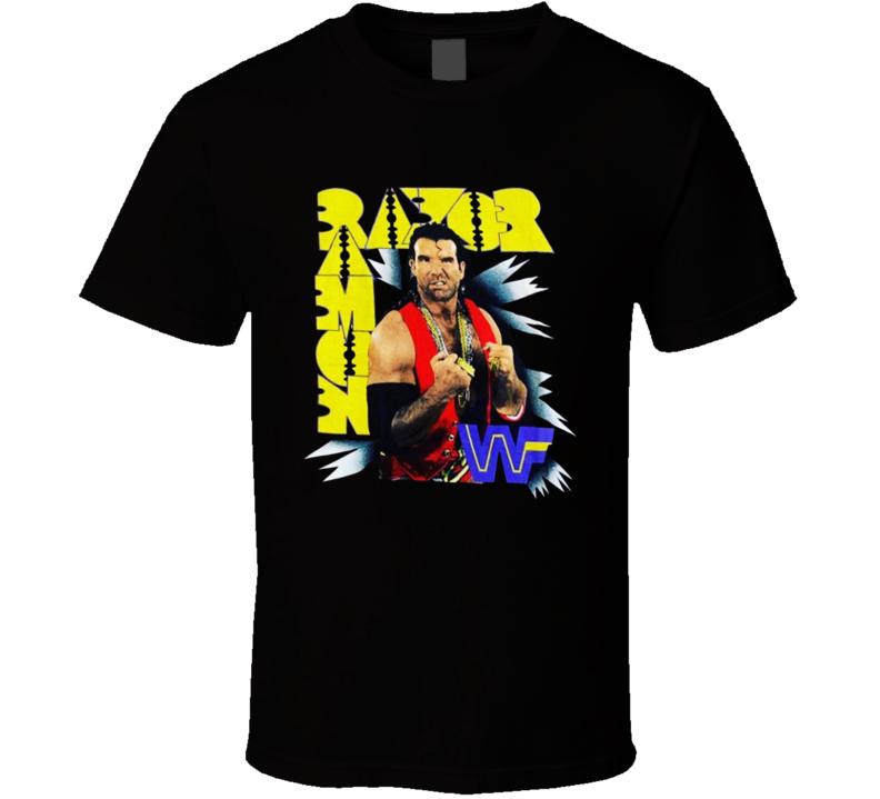 Razor Ramon Popular Wrestling Sports Fan T Shirt