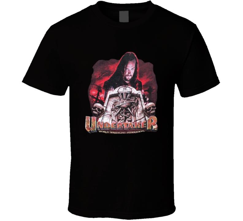 The Undertaker Fear The Darkness Popular Wrestler Sports Fan T Shirt