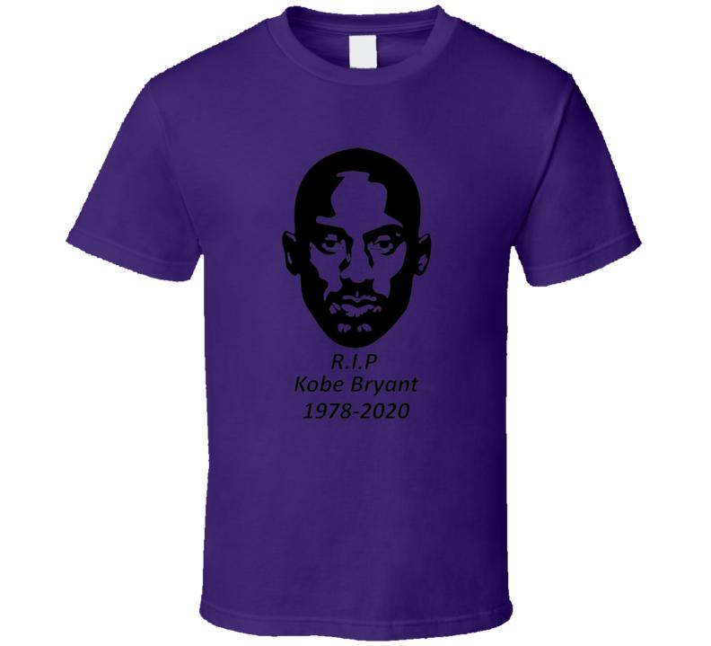Kobe Bryant Tribute Rip 1978-2020 T Shirt