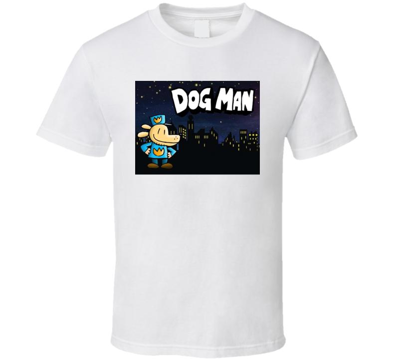 Dog Man Dogman Book T Shirt
