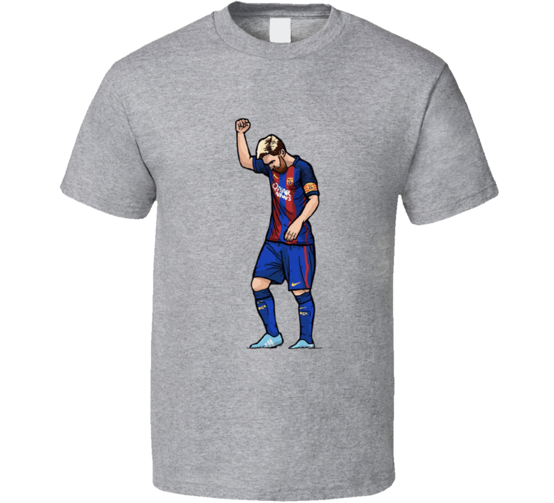 Lionel Messi Barcelona Graphic Cartoon T Shirt