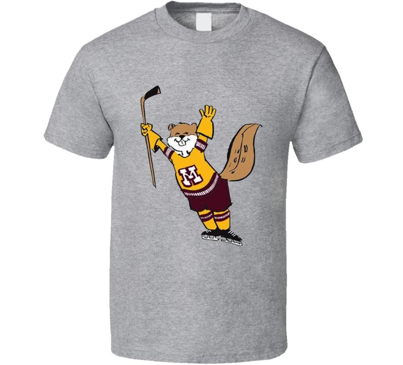Minnesota Gopher Hockey Team Supporter T Shirt