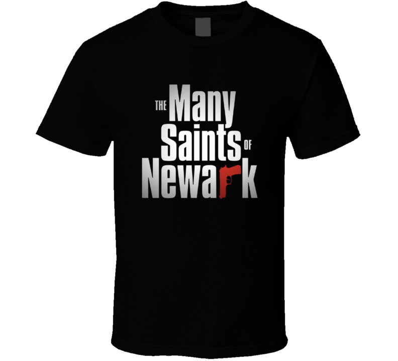 The Many Saints Of Newark Logo Sopranos T Shirt