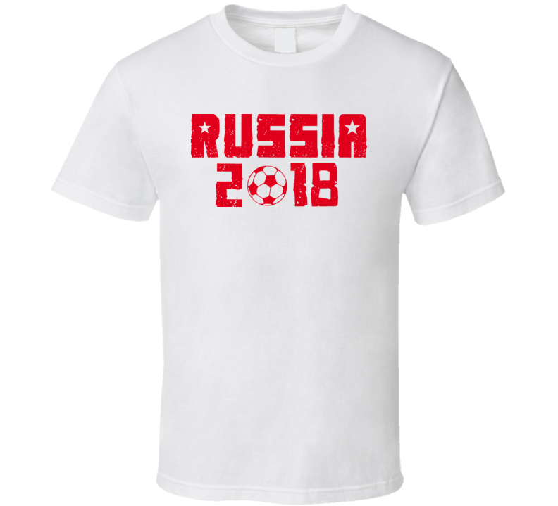 Russia World Cup 2018 Soccer T Shirt