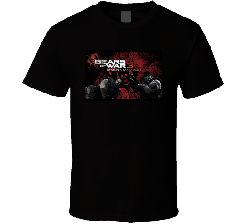 Gears Of War 3 Brother To The End T Shirt