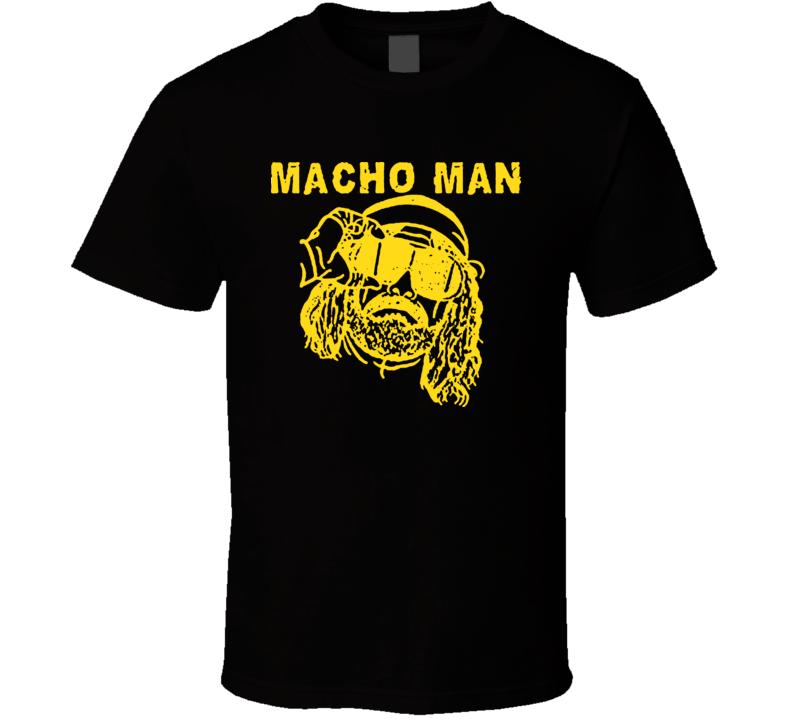 Macho Man Randy Savage Wretling Legend T Shirt