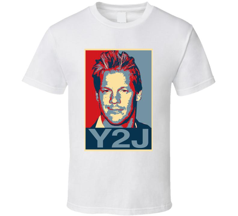 Chris Jericho Y2j Hope Wrestling Legend T Shirt