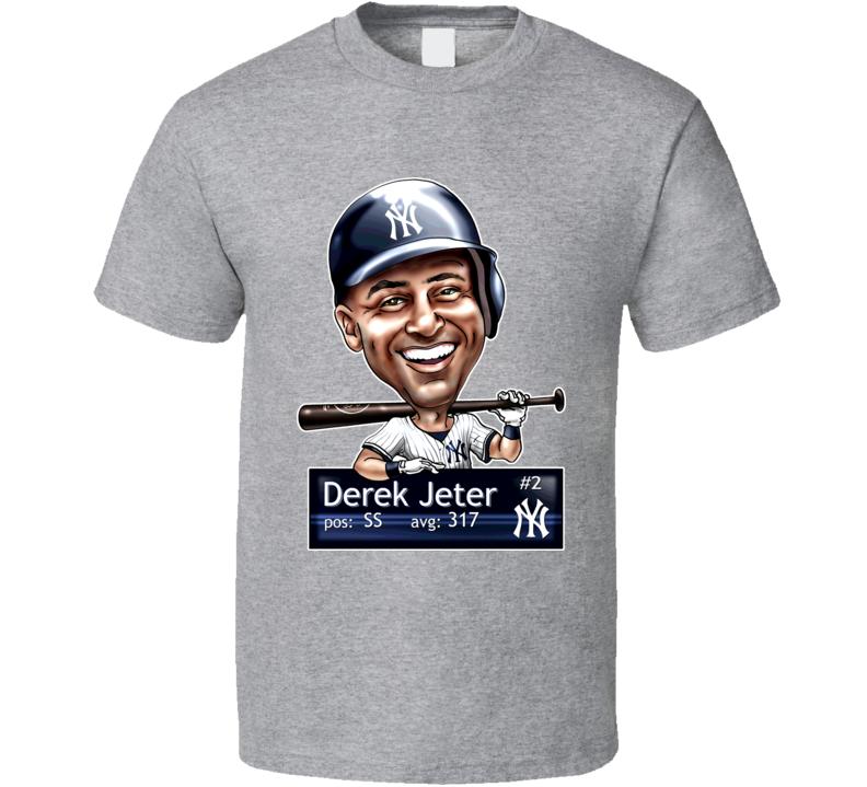 Derek Jeter New York Yankees T Shirt