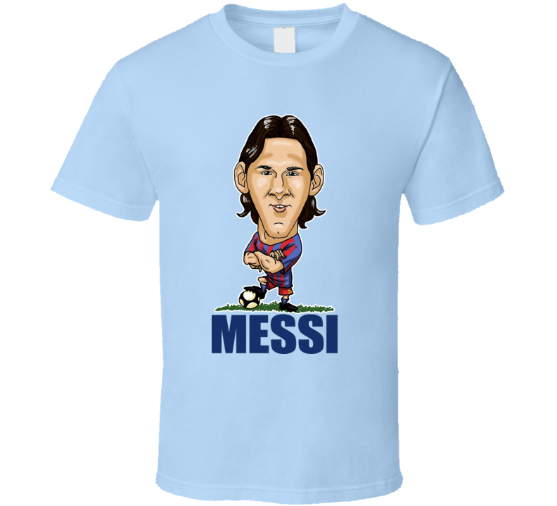 Lionel Messi Barcelona Spain Soccer T Shirt