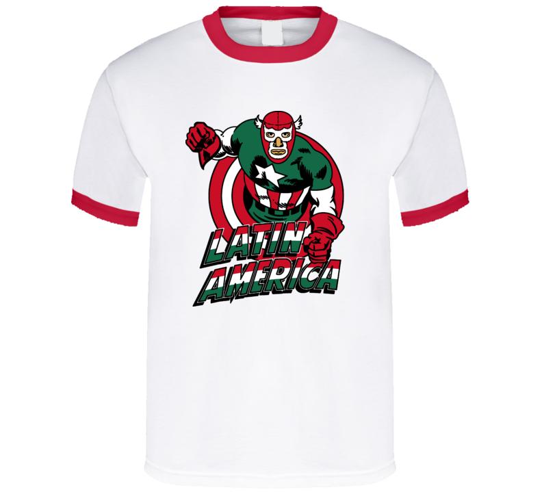 Latin America Captain Funny T Shirt