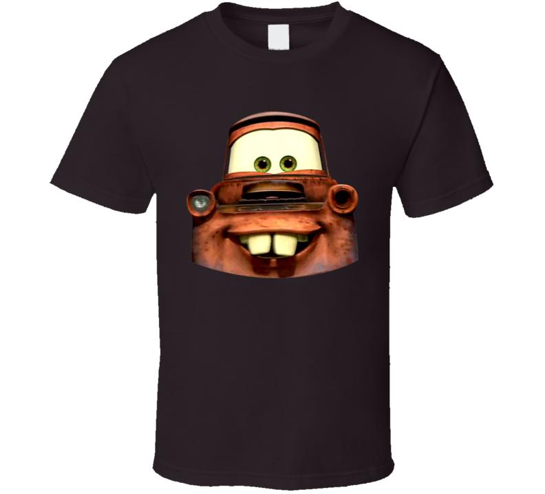 Cars 2 Mater Big Face T Shirt