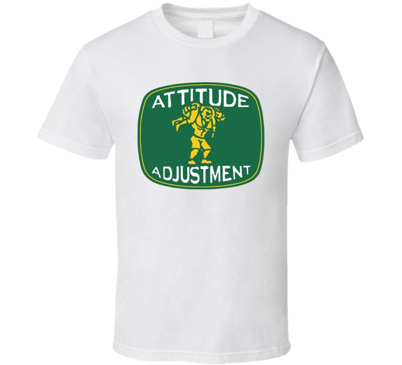 John Cena Attitude Adjustment Wrestler T Shirt