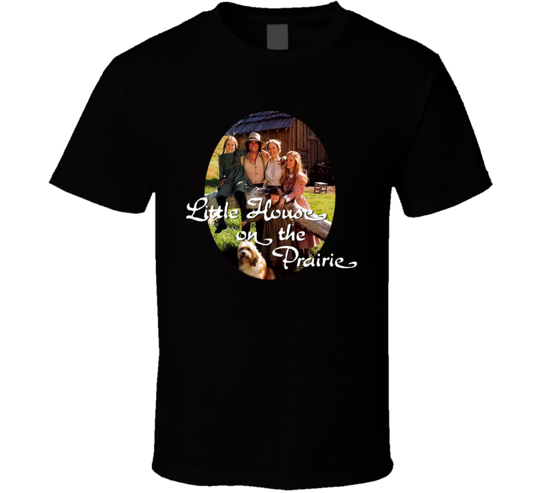 Little House On The Prairie Ingalls Family T Shirt