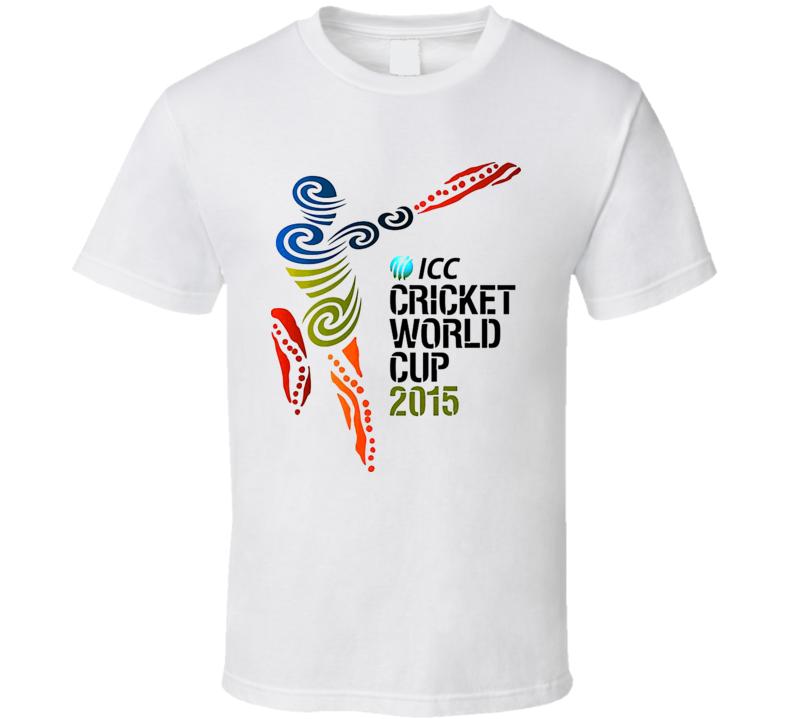 Icc Cricket Worldcup 2015 Logo T Shirt