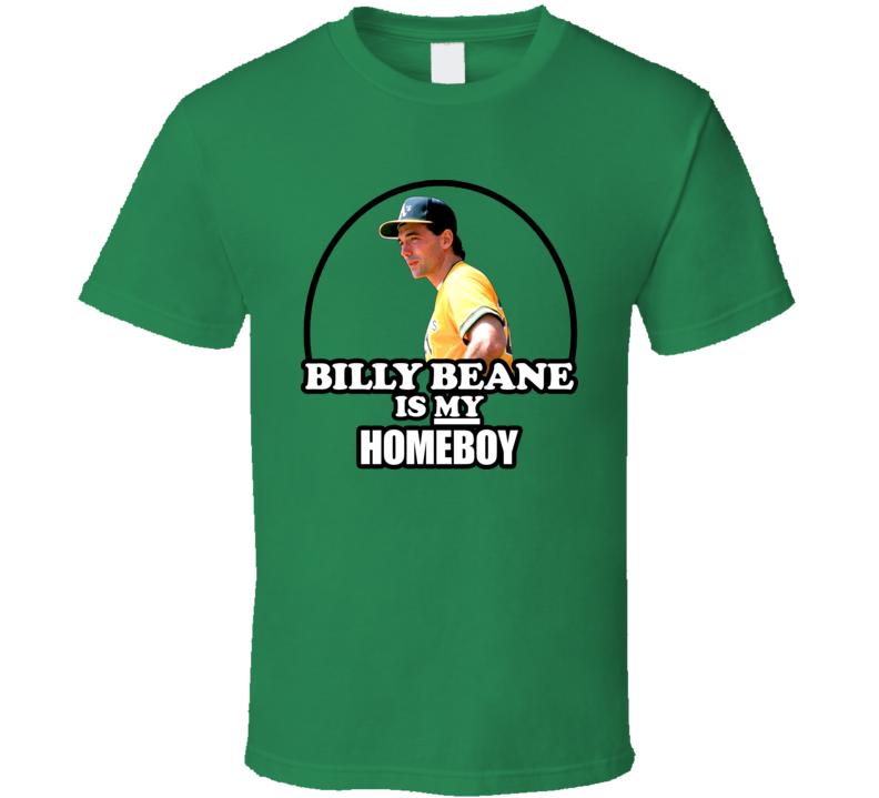 Billy Beane Oakland Baseball Moneyball T Shirt