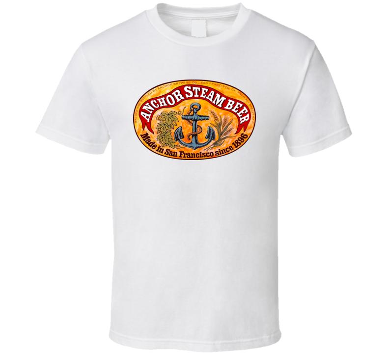 Anchor Steam Beer San Fransico T Shirt