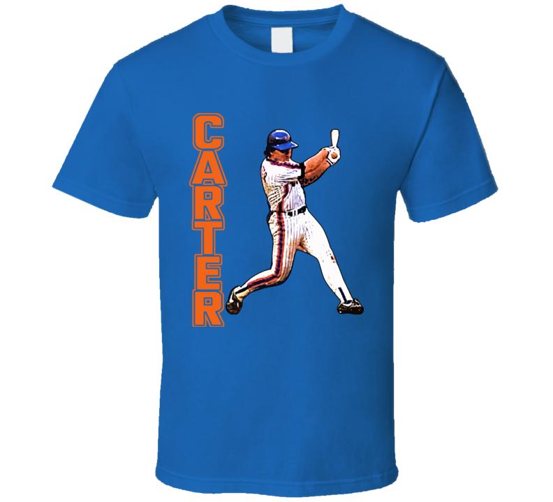 New York Baseball Catcher Gary Carter T Shirt