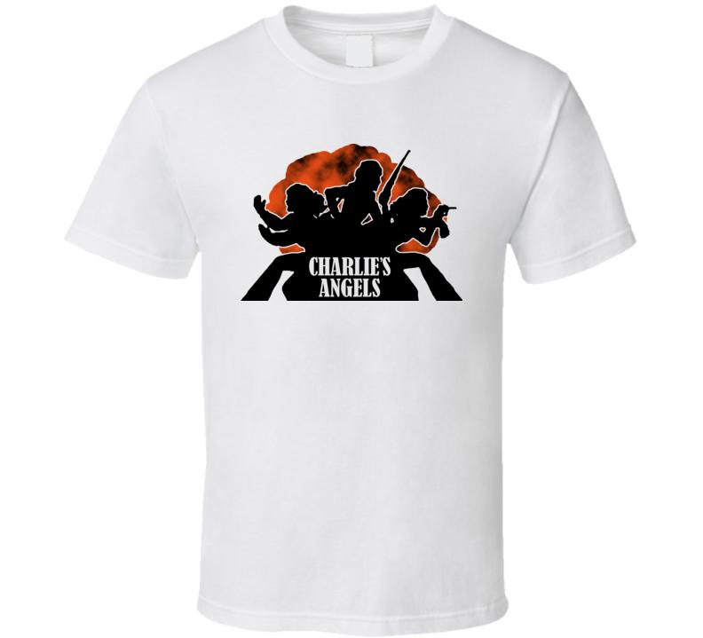 Charlies Angels Classic Logo T Shirt
