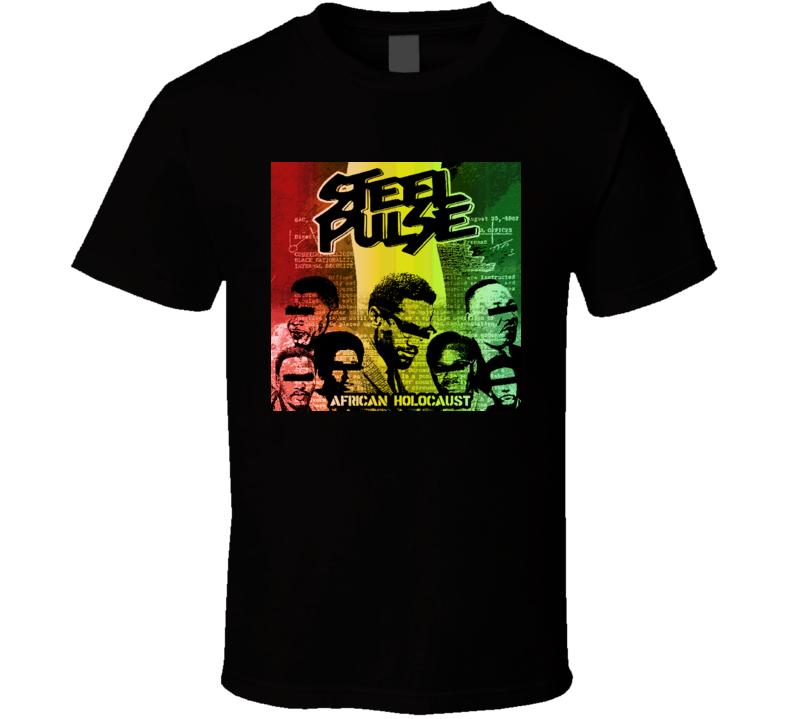 Steel Pulse Reggae T Shirt Black