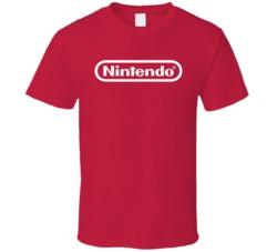 Nintendo Logo T Shirt