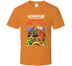 Adventure Logo Atari 2600 T Shirt
