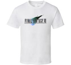 Final Fantasy 7 Logo T Shirt